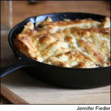 Fall Vegetable Pot Pie with Red Wine Sauce