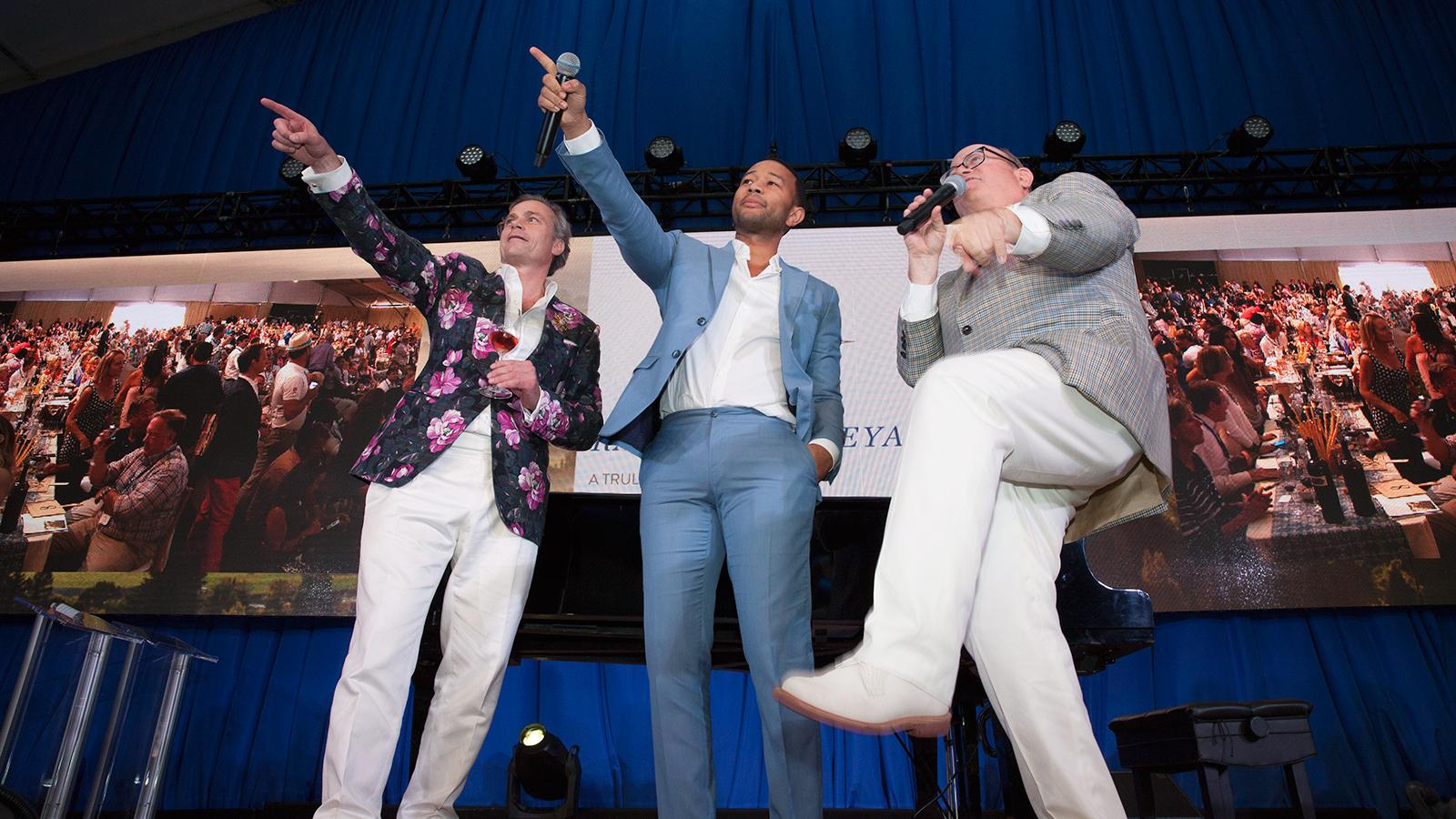 With Star Power, Great Wines and a Worthy Cause, Auction Napa Valley Raises $15.8 Million