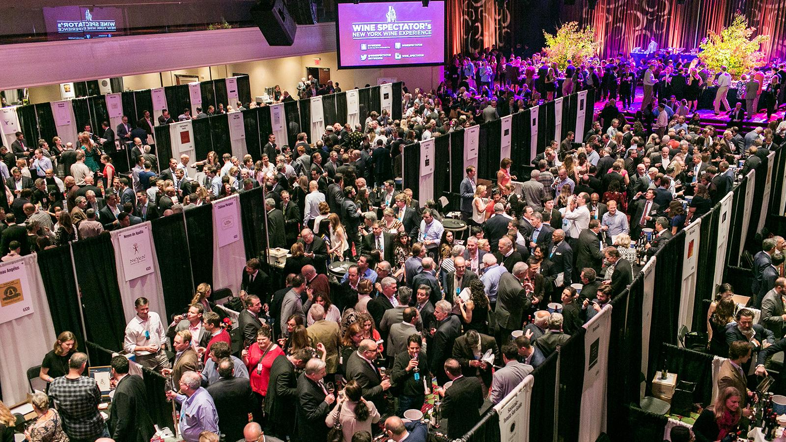 The 2015 New York Wine Experience: Wall-to-Wall Wines and Fun