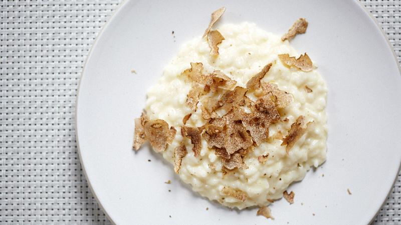 White Truffle and Cheese Risotto for Valentine's Day