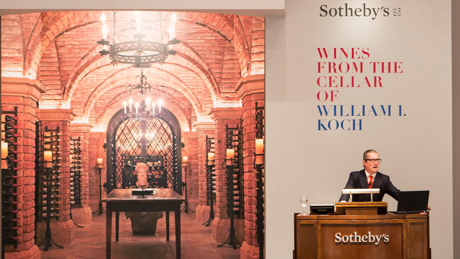 Sotheby's Scores Big with Bill Koch's $21.9 Million Wine Auction