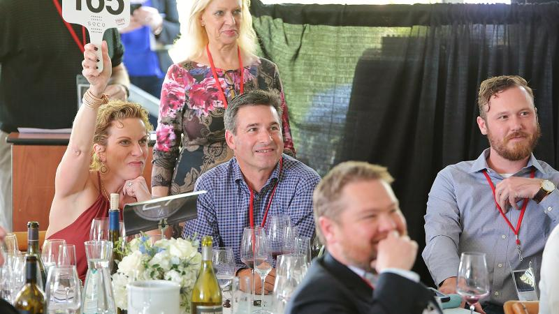 Sonoma Barrel Auction Weekend Brings Out the Big Boys