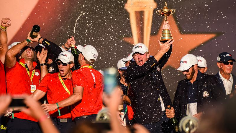 Moët and Mouton at the Ryder Cup