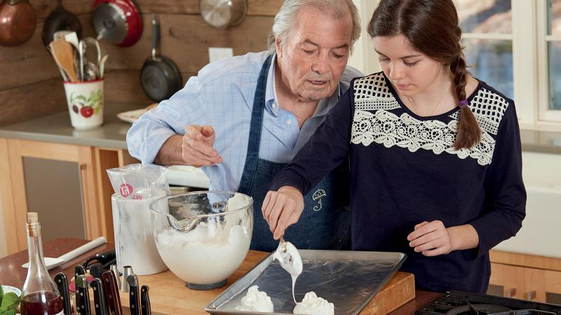 Chef Jacques Pépin's Family Lessons
