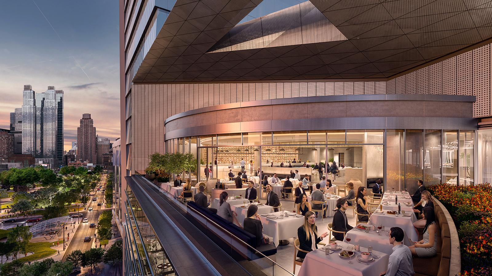 Big-Shot Chefs Flock to New York's Hudson Yards