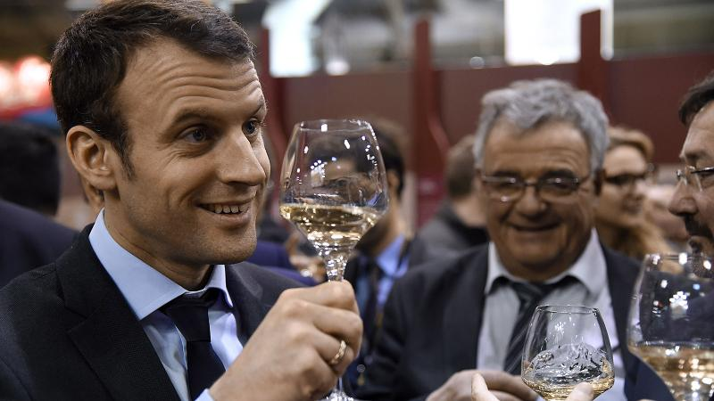It's Bordeaux vs. Champagne in Macron-Le Pen French Presidential Showdown