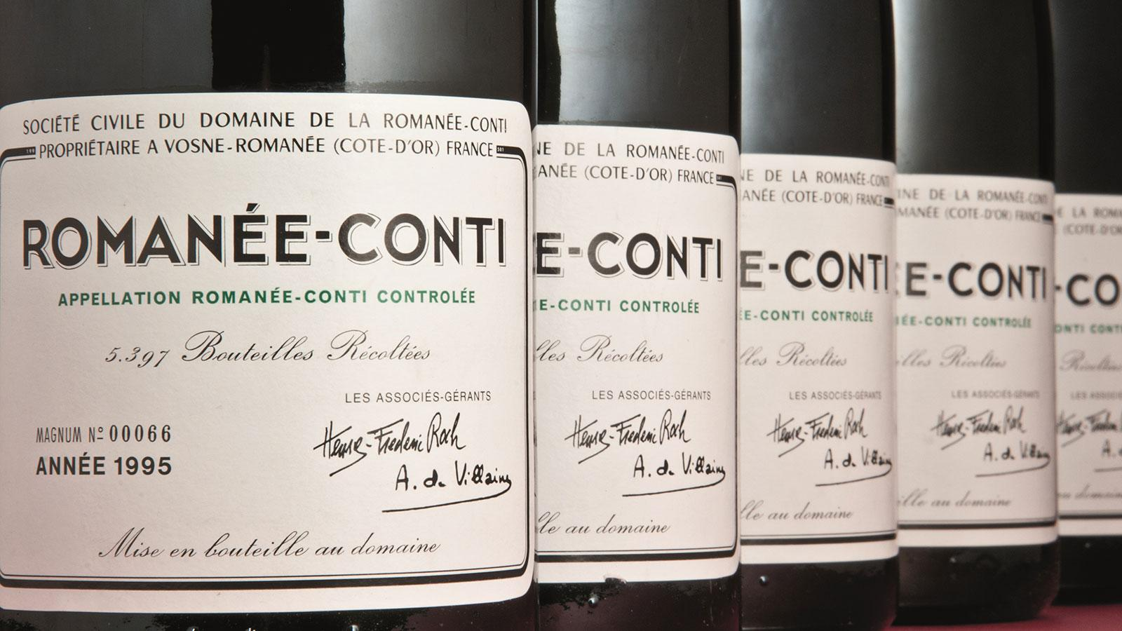 Rare Wine Auctions Set New Records in the First Half of 2018