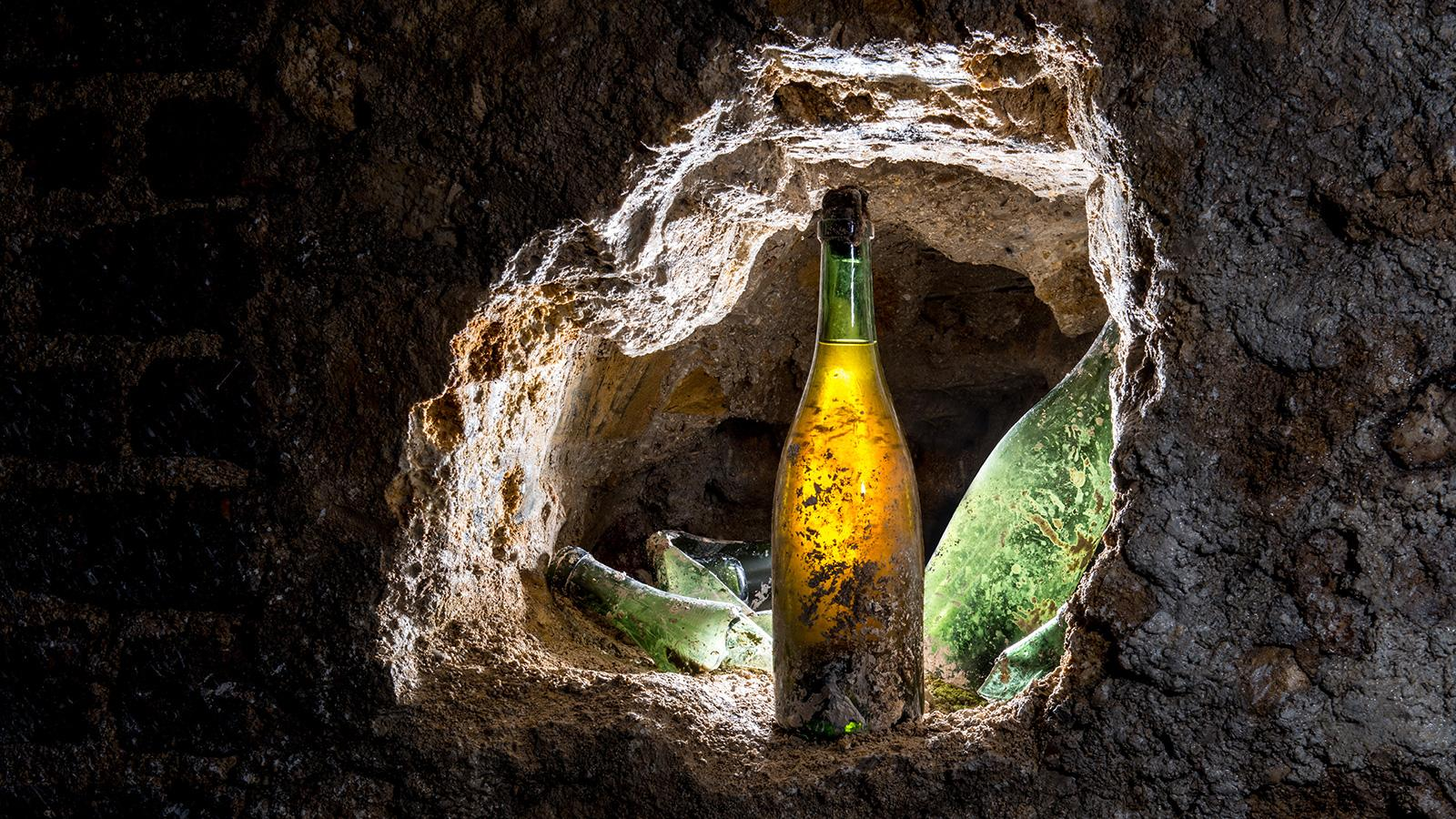 Exclusive: Buried Bubbly Could Be Buried Treasure