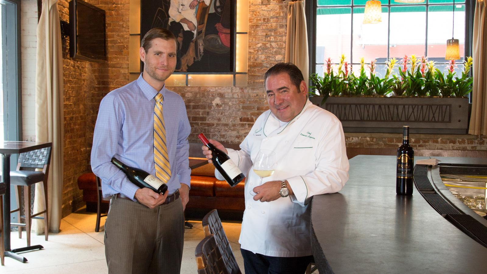 On the Job: How Ray Gumpert Helps Emeril Work His Magic