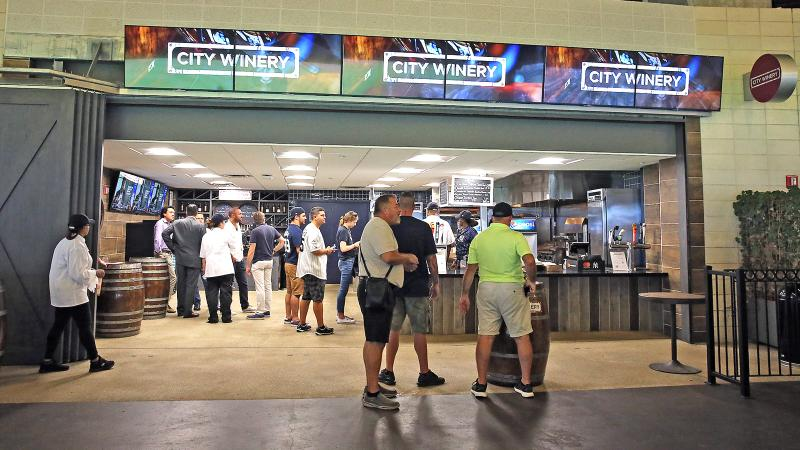 Turning Tables & Unfiltered Go to the Ballgame: City Winery Opens All-Star Wine Bar for Wine-Starved Yankees Fans