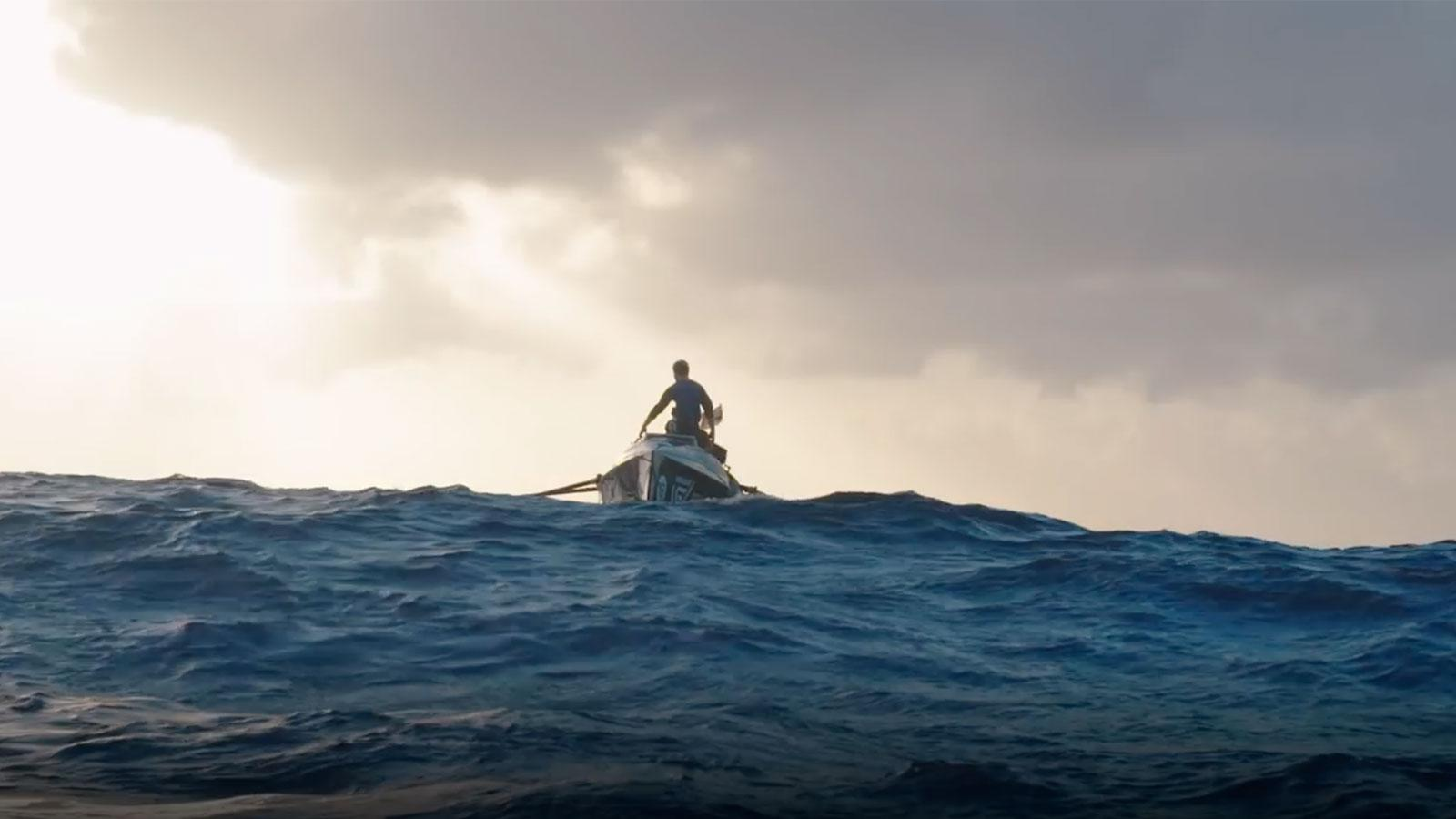 Extreme Winemaker Rowing 3,000 Miles Solo Across the Atlantic Right Now