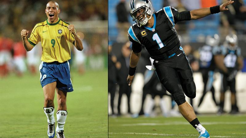 Soccer Great Ronaldo Now 'Commander' of Ribera Wine Castle; Cam Newton Trots Out Lucky Wine Cleats