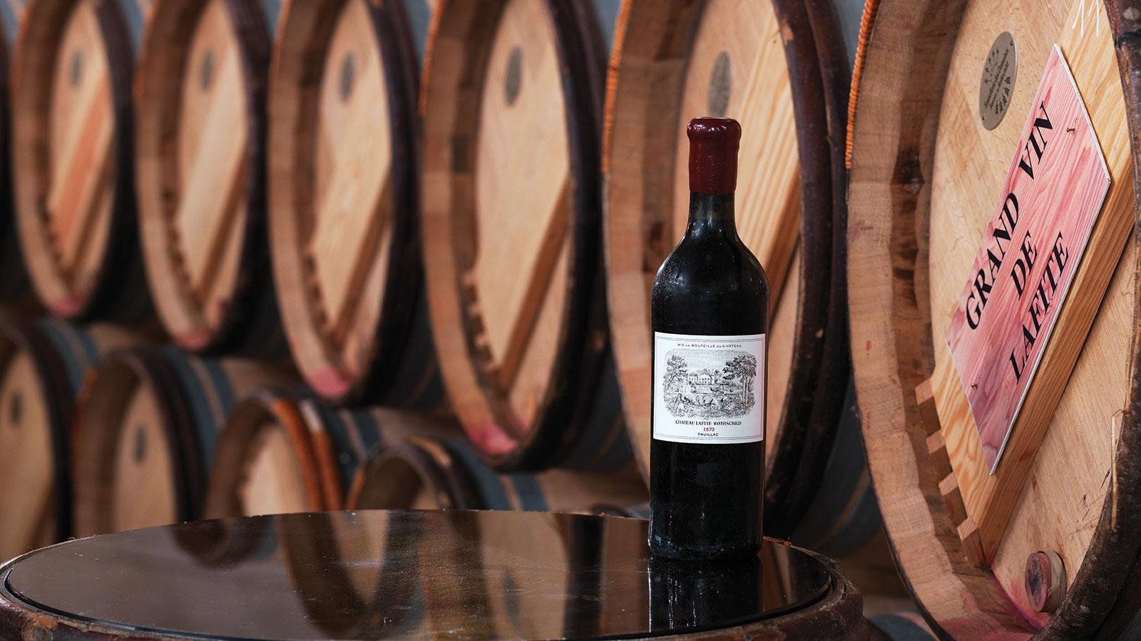 Record-Breaking Lafite Rothschild Auction Brings in $7.86 Million