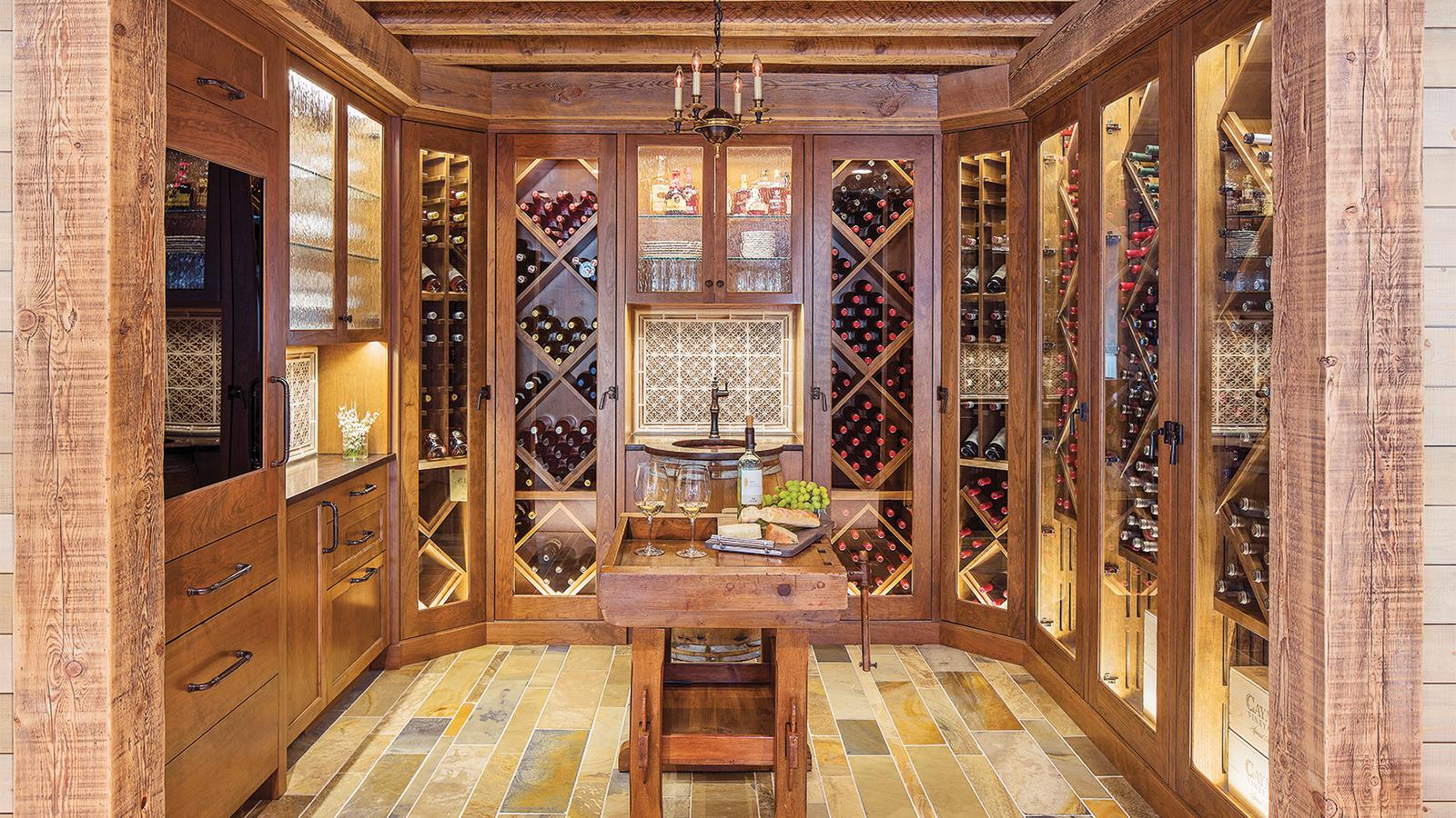 In This Cellar, Refined Design Meets Grab 'n' Go Wine