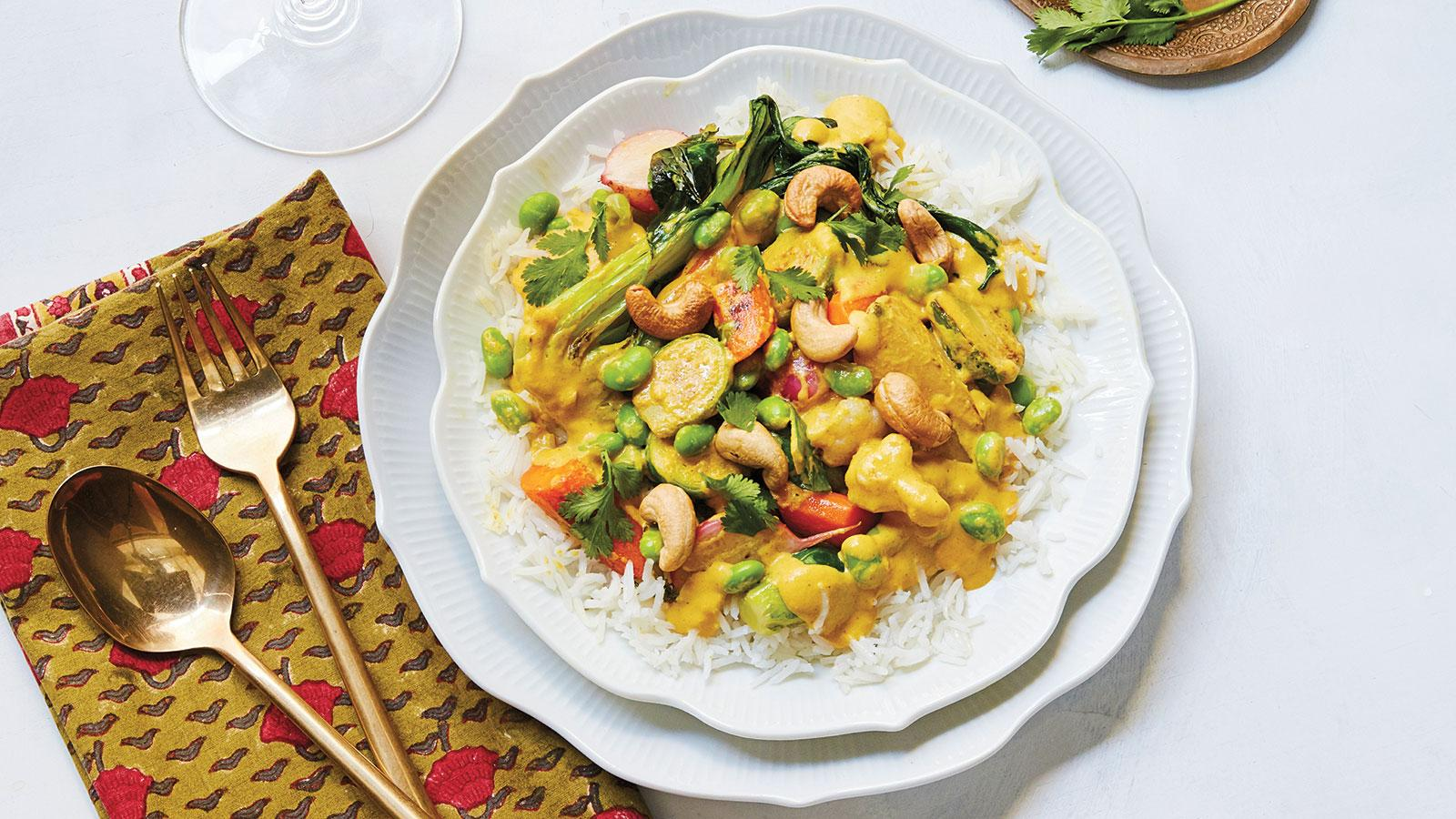 Vegetable Cashew Curry