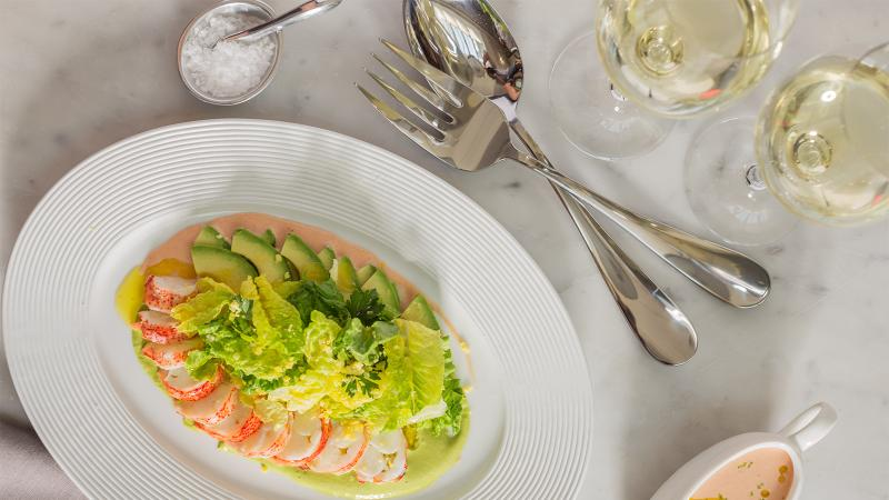 Dining Tip: Lobster Tail with Avocado and Spicy Dressing