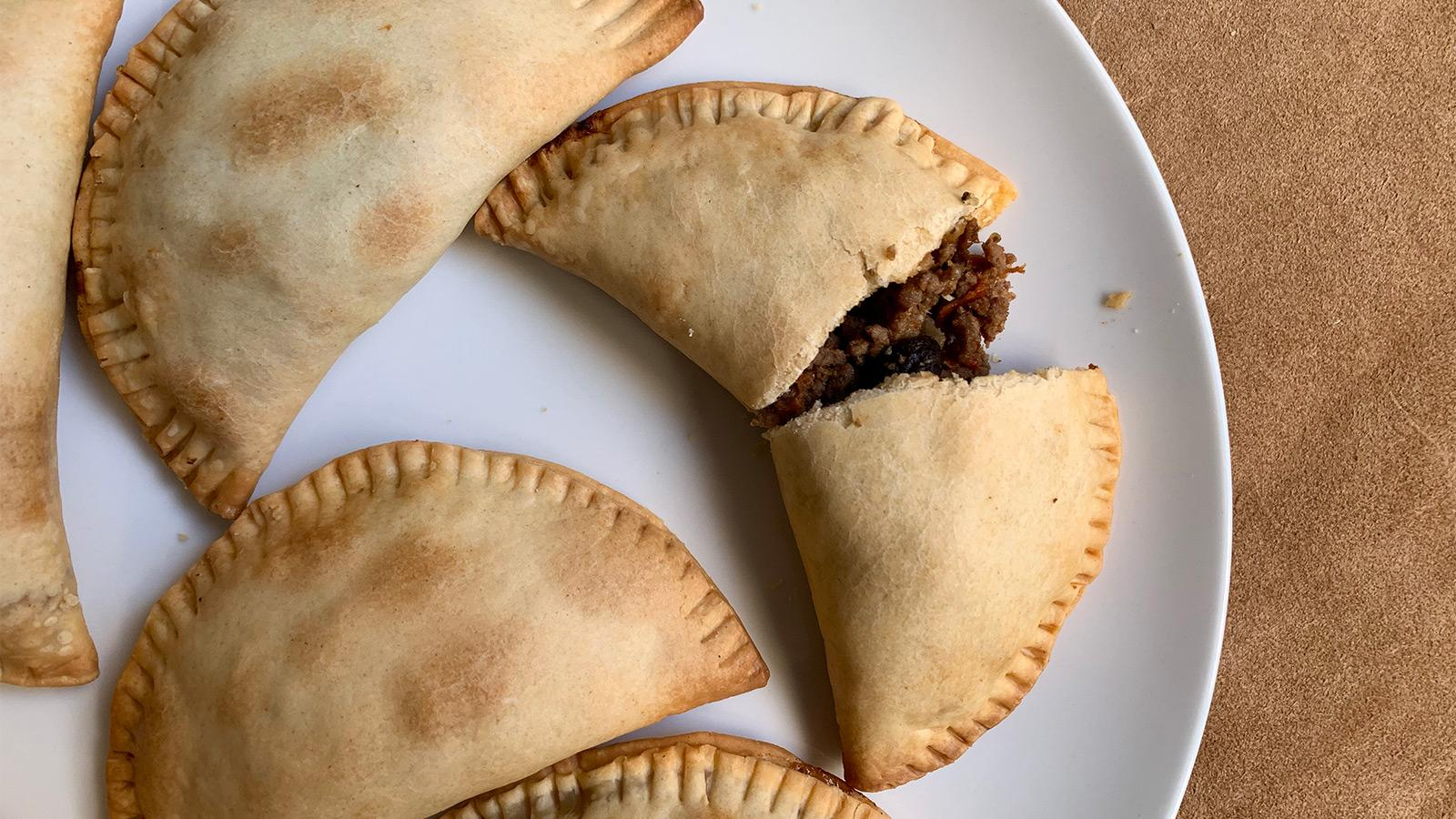 Sweet and Spicy Beef Empanadas