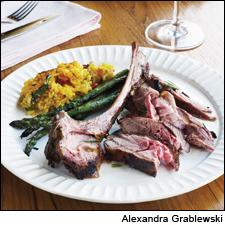 Marinated, Grilled Spring Lamb