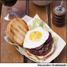Australian-Style Grilled Hamburgers With Herbed Potatoes