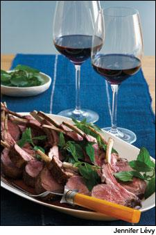 Roasted Rack of Lamb With Toasted Cumin and Coriander