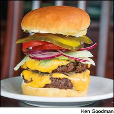 All-American Double Bison Cheeseburger