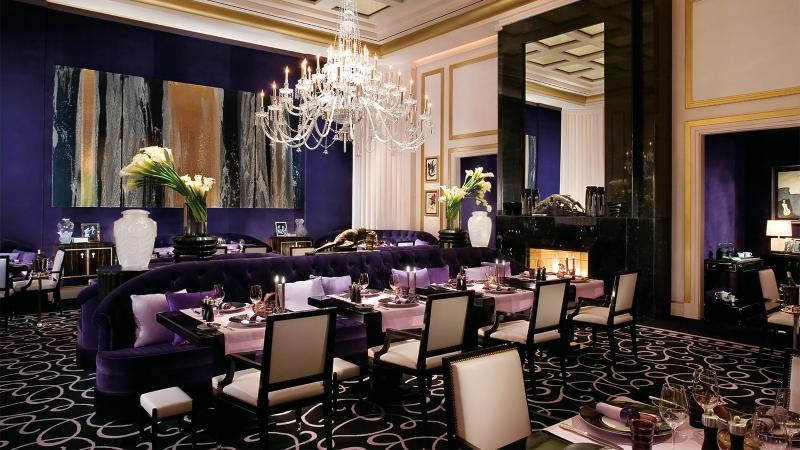 Joël Robuchon Restaurant dining room