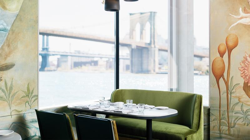 Jean-Georges Vongerichten Opens Restaurant at New York's Seaport District, with More to Come