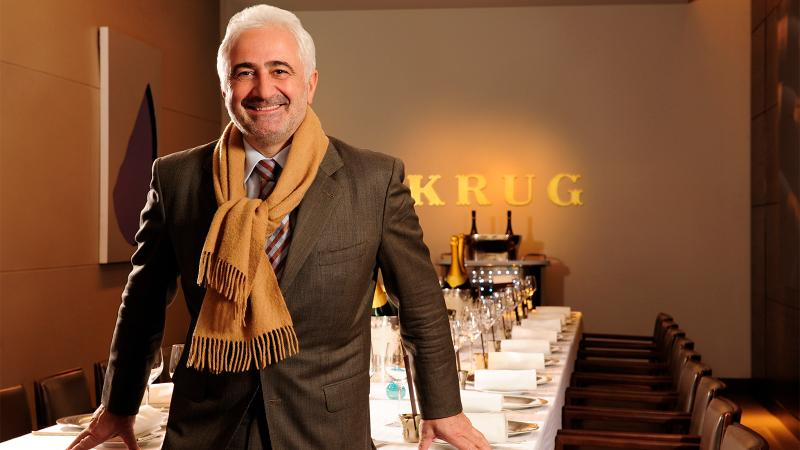 Chef Guy Savoy at the Krug Chef's Table