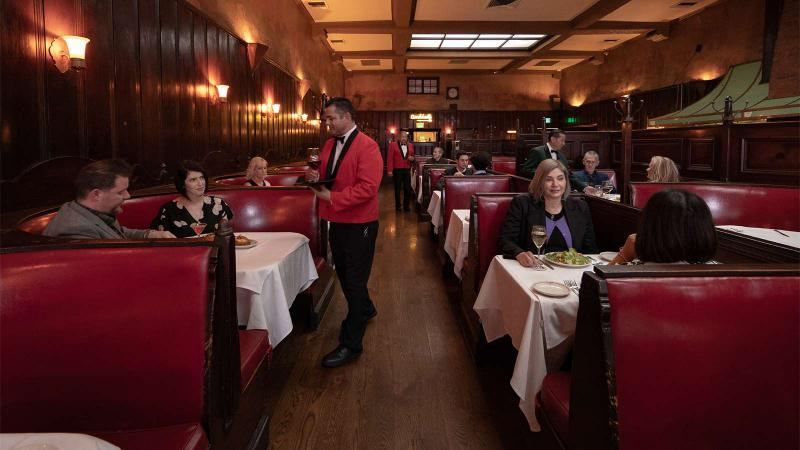 Service at the Musso & Frank Grill