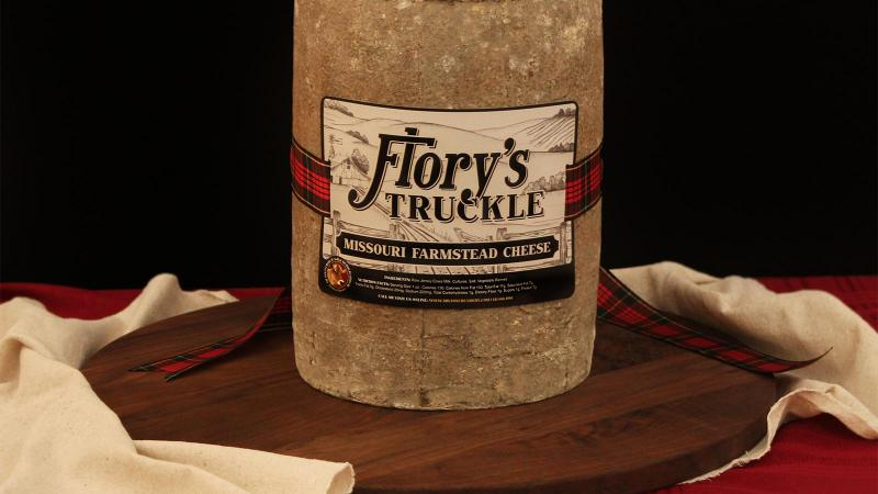 Milton Creamery Flory's Truckle cheese