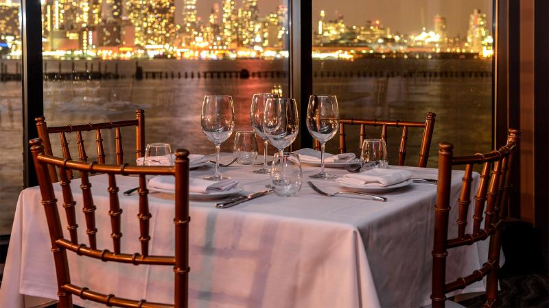 Waterfront dining at Molos Restaurant