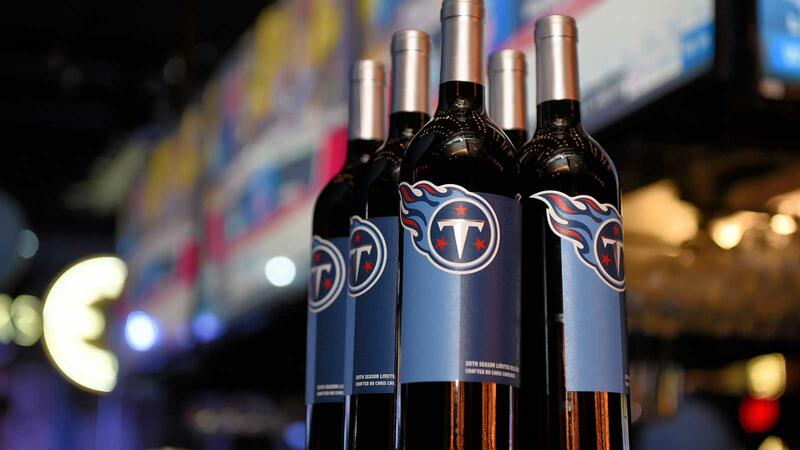 Tennessee Titans wine