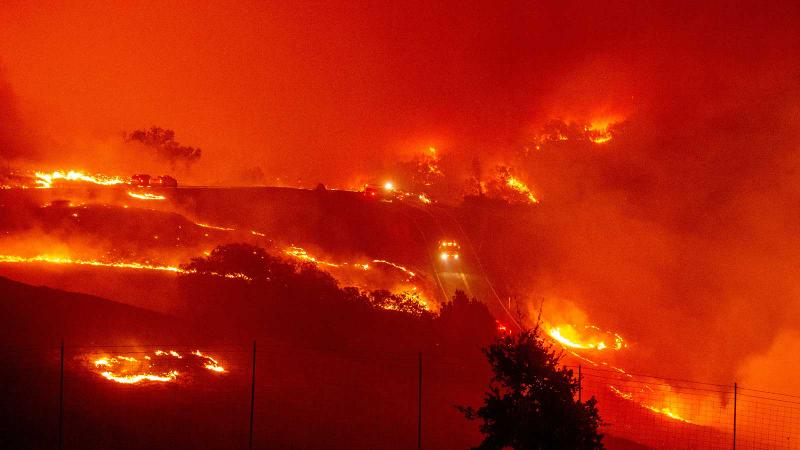 Sonoma Wine Community Evacuates as Firefighters Prepare for Dangerous Wildfire Conditions