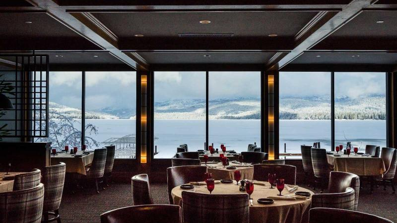 The Narrows Steakhouse's dining room