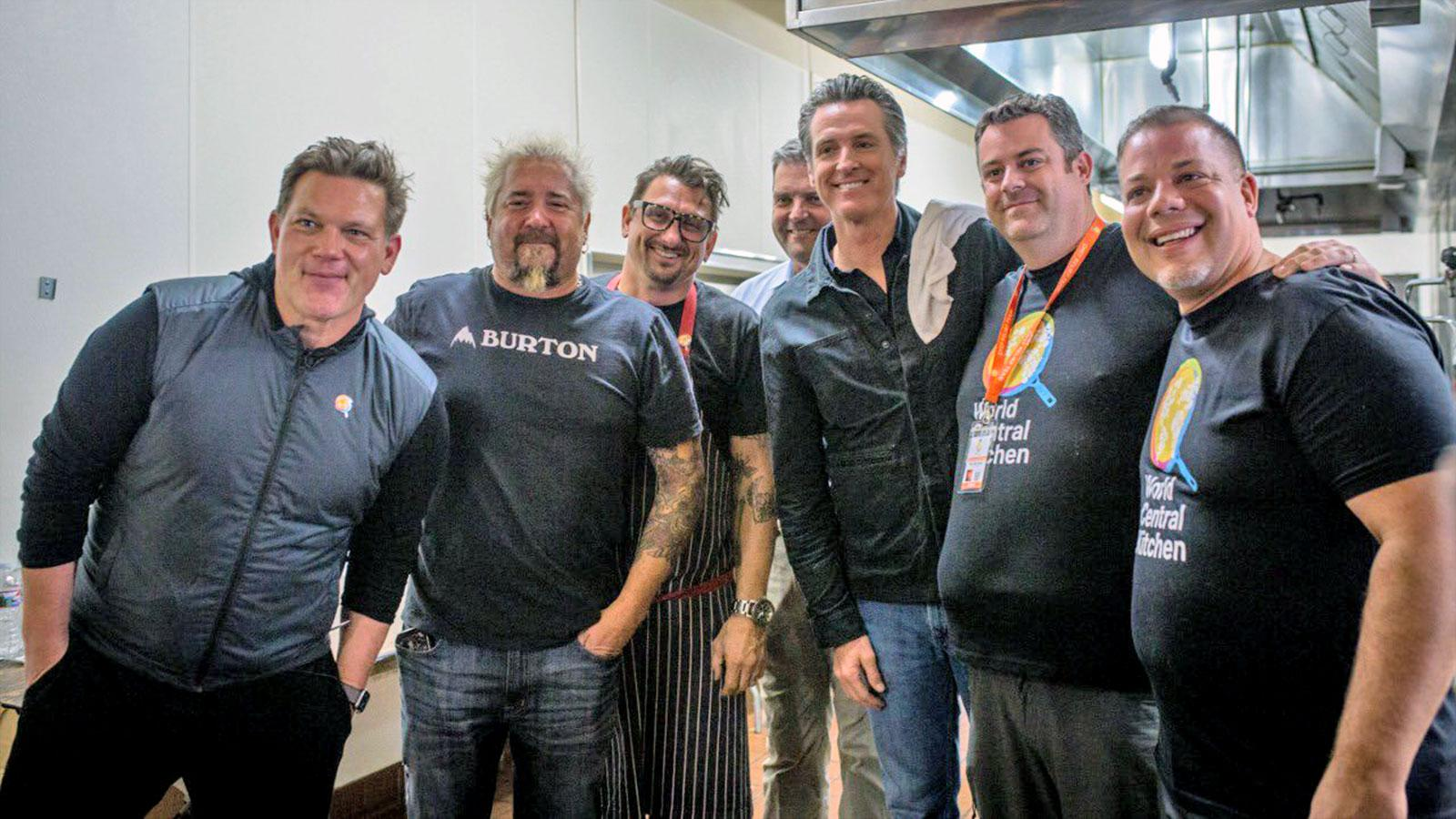 Star Chefs Assemble Super-Team to Feed California Fire Victims