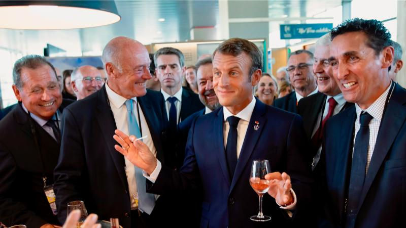 Will France Go Dry for January? Macron Says No
