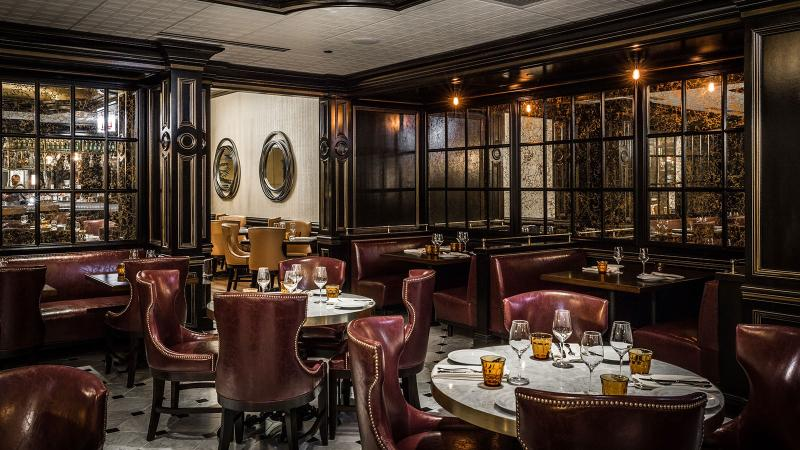 Margeaux Brasserie dining room