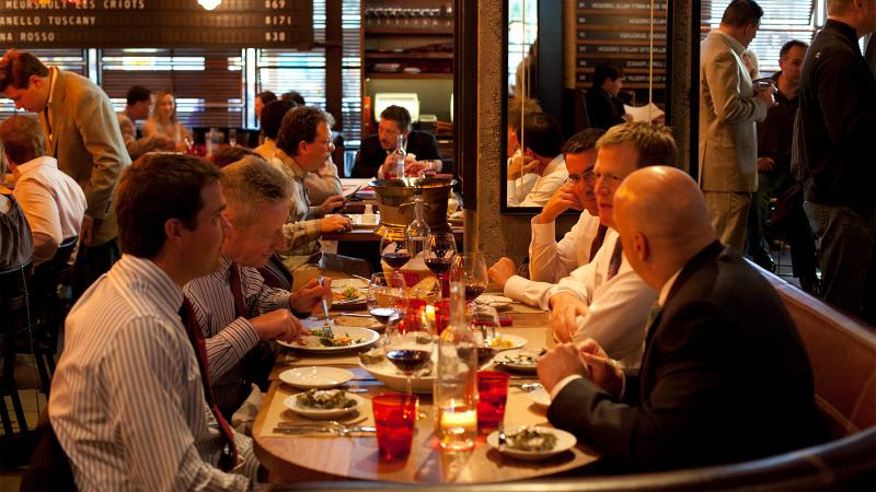 Diners at RN74