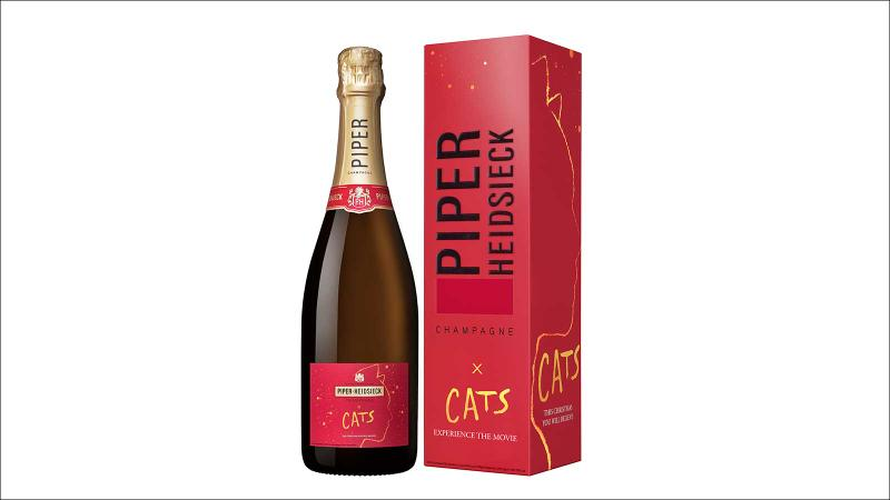 Piper-Heidsieck Cats label