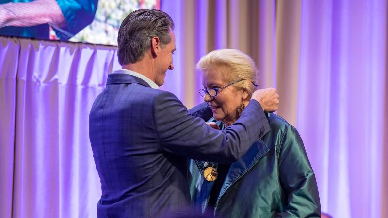 Wine Governor Gavin Newsom Inducts Winemaker Helen Turley and Wine Chef Wolfgang Puck into Hall of Fame