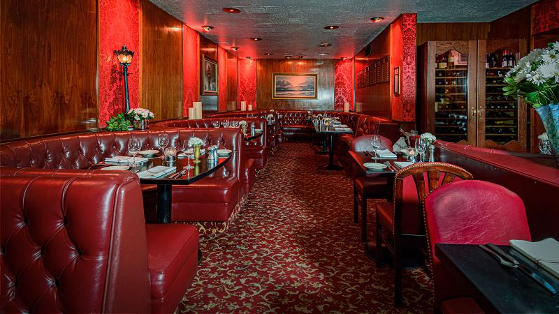 Durant's dining room