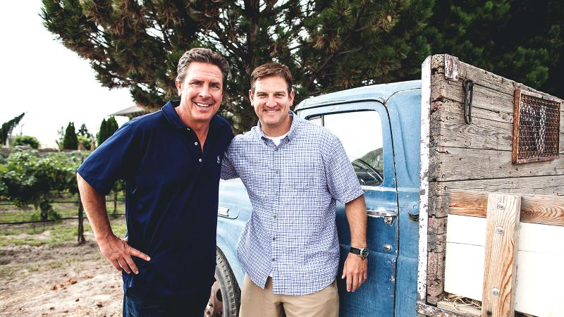 Dan Marino and Damon Huard, Passing Time and Wine