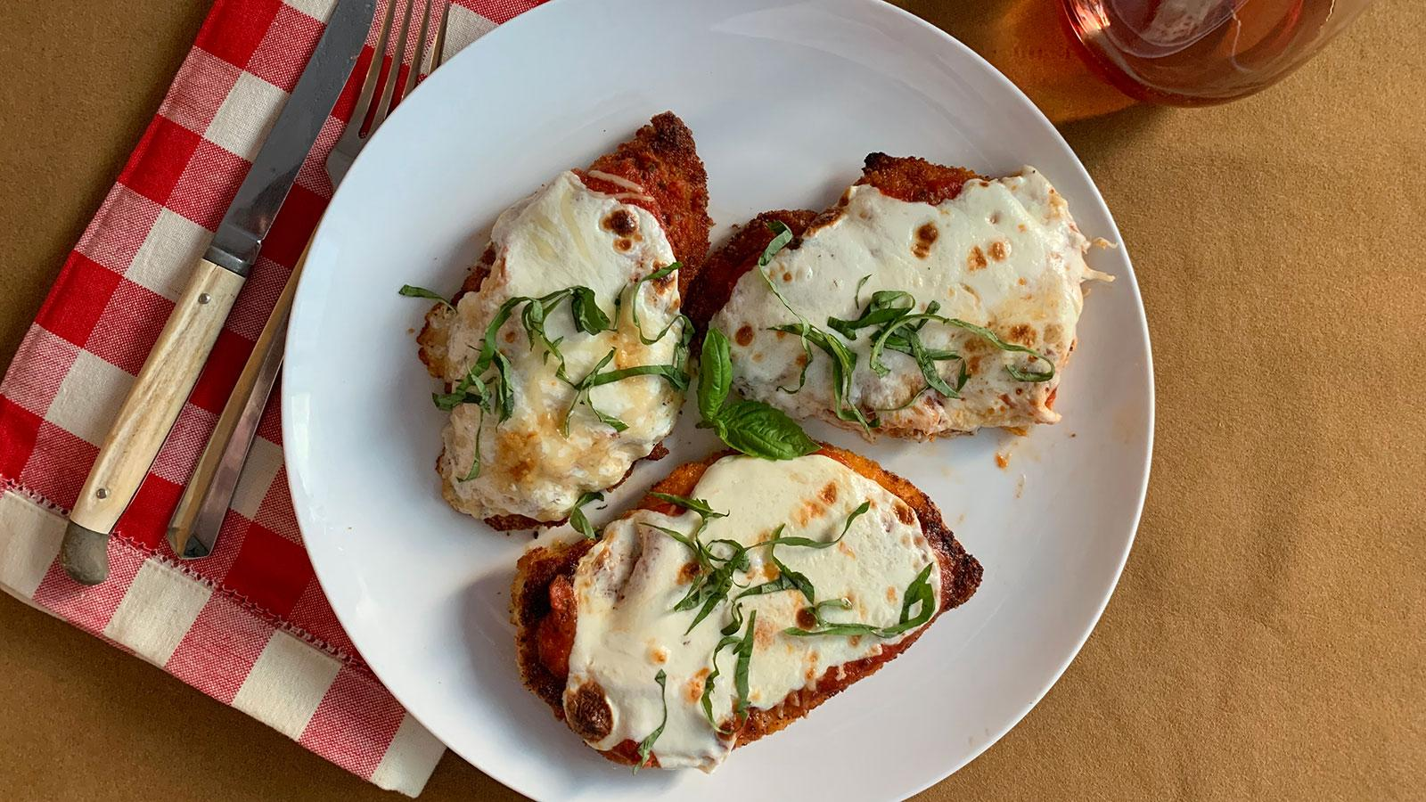 8 & $20: Easy Chicken Parmesan with a Winter-Worthy Rosé