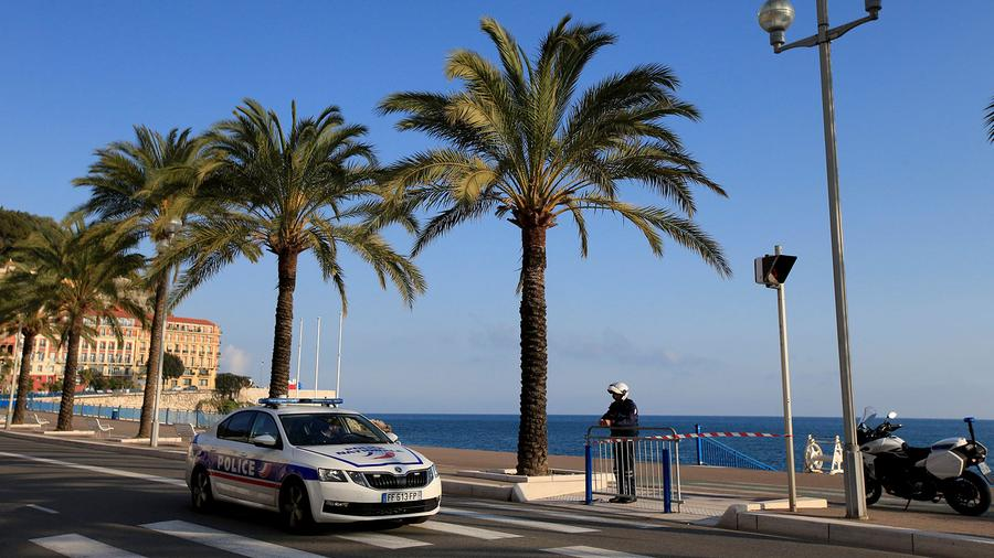 In southern France, beaches and waterfront walkways, such as the Promenade des Anglais in Nice, are shut, with police guarding them to keep people off.