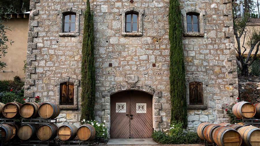 Mayacamas was one of several Napa Valley wineries to open its cellar doors and offer some library wines.