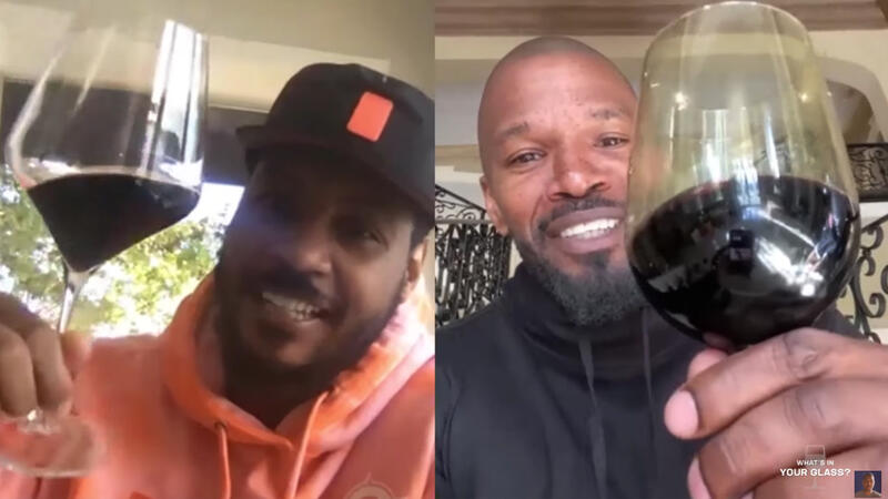 Jamie Foxx, Carmelo Anthony Weigh In on New 'Uncorked' Film; Snoop Dogg Makes Wine with 19 Crimes