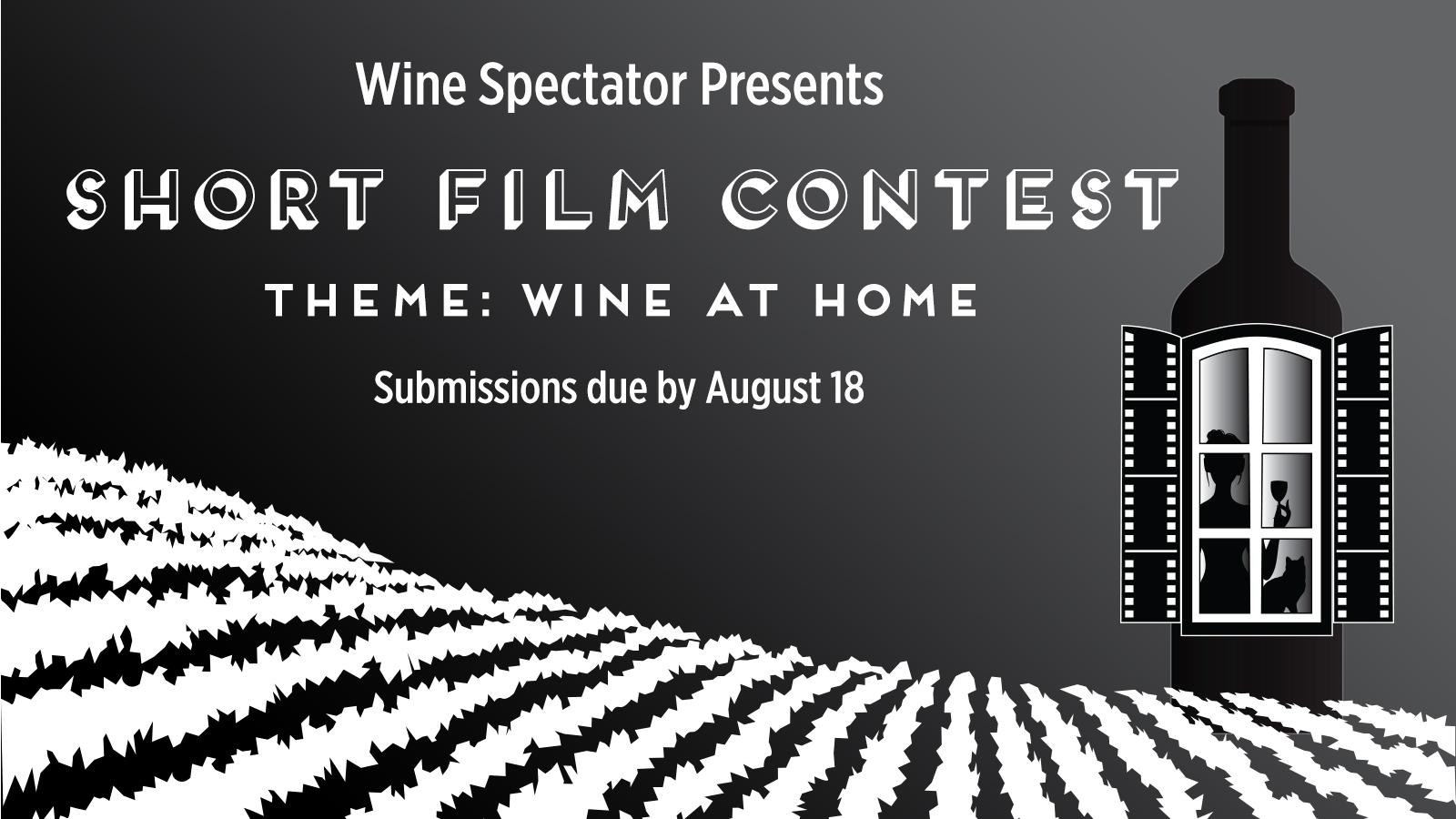 Announcing Wine Spectator's 14th Annual Short Film Contest: Wine at Home
