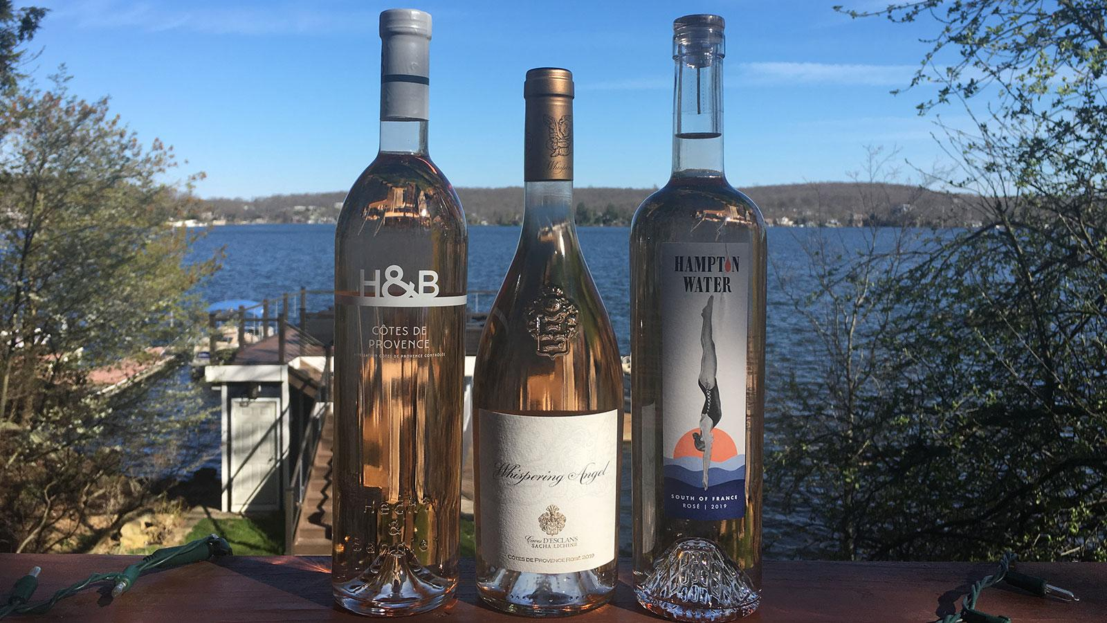 Staying Home: Sunshine, Fresh Air and a Trio of Rosés
