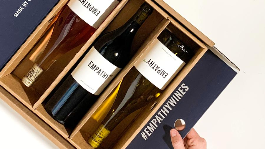 Founded just a year ago, Empathy offers sustainable California wines in a consumer-friendly box.