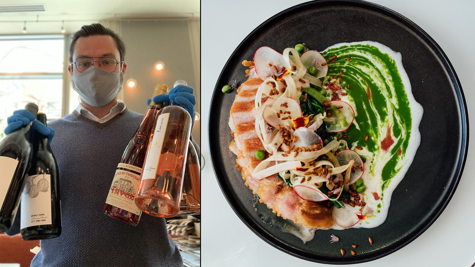 Takeout Stars: Reserve Wine & Food